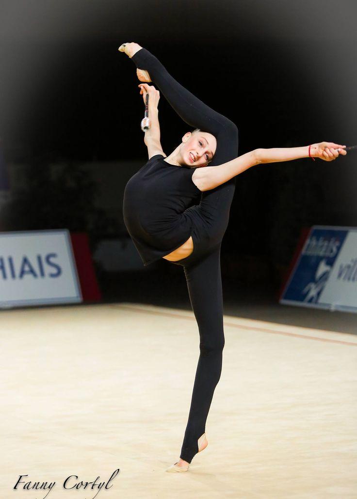 Olena DIACHENKO (Ukraine) ~ Training Clubs @ 24/03/'17 for Grand Prix Thiais ☺️☺️ Photographer Fanny Cortyl.