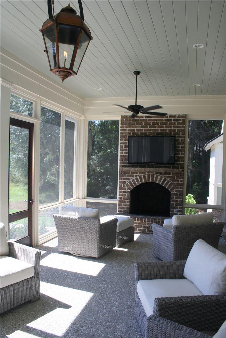 screened in back porch pearce scott architects sunroom ideasporch ideaspatio - Back Porch Patio Ideas