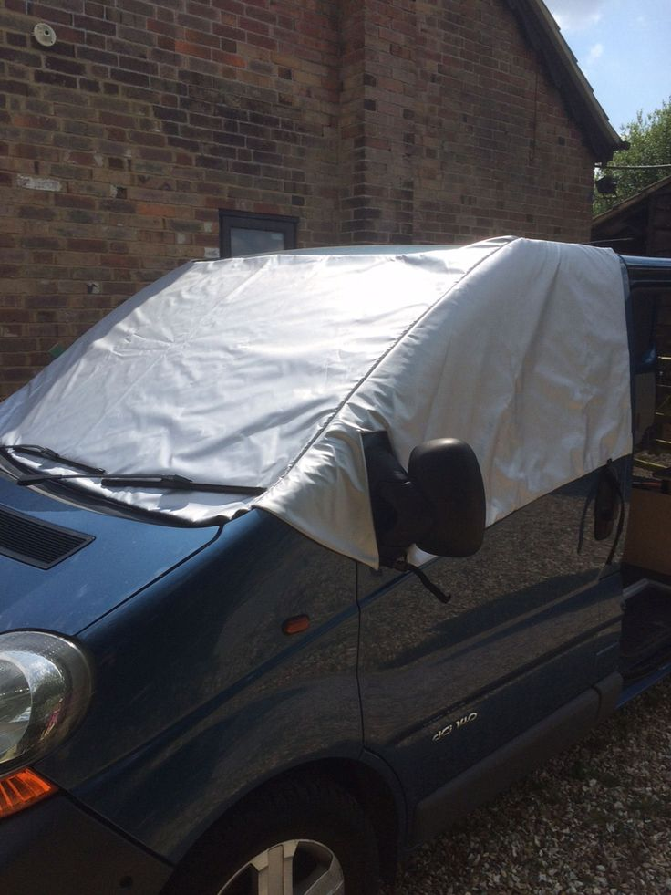 Insuscreen Renault Trafic MK2 01 ON Reversible Insulated VAN Motorhome Cover | eBay