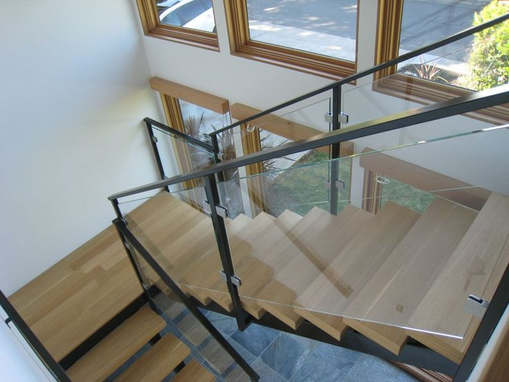 Glass Stair Railings Interior: 17 Best Ideas About Glass Stair Railing On Pinterest
