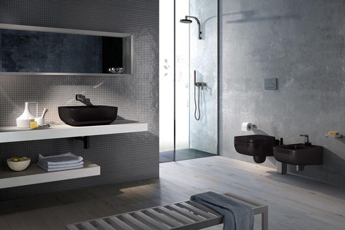 Pi di 25 fantastiche idee su mobili da bagno sospesi su for Iperceramica como