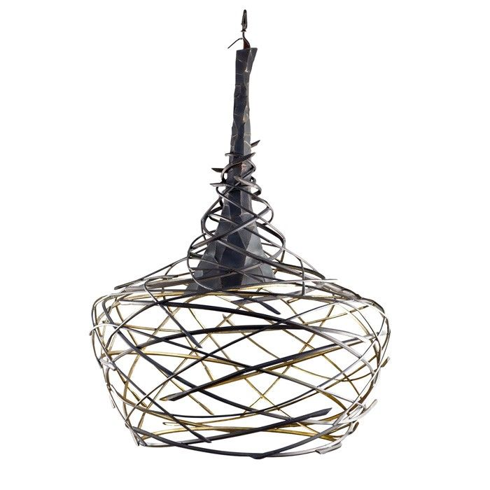 Hermon Forged_Swirl_Pendant >> SOFA & SOUL is the exclusive Melbourne retailer for Hermon Lighting. http://sofasoul.com.au/