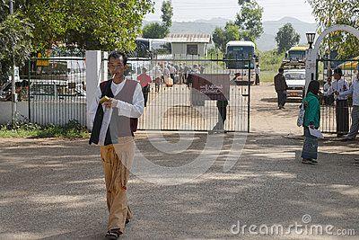 A small Nyaung U International Airport port in Bagan Myanmar (Burma)  http://en.wikipedia.org/wiki/Nyaung_U_Airport
