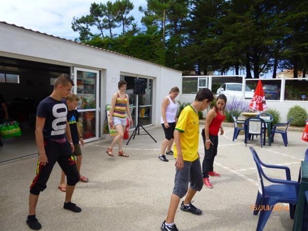 Animations - Animations et Services en camping St Hilaire de Riez en Vendée - Domaine des Salins