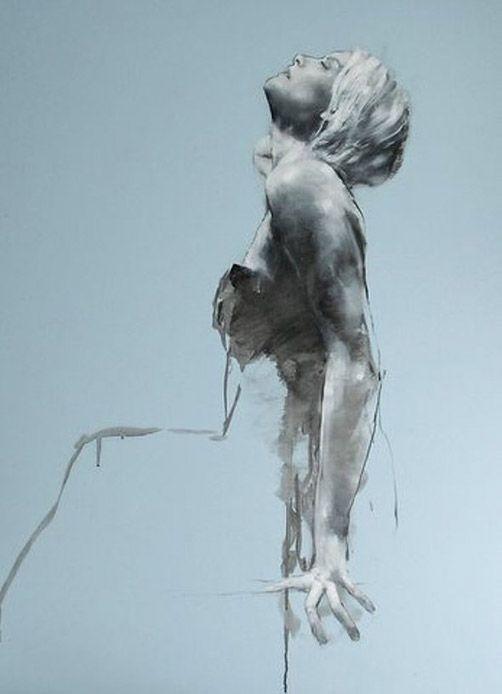 Sam Arching Upwards/サム アーチング アップワーズ/77×59cm/油彩、ボード/2009年