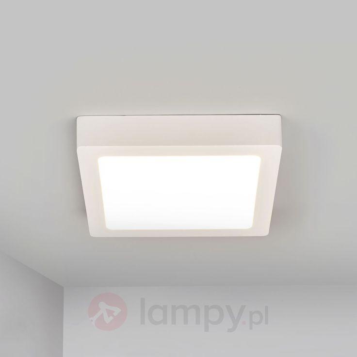 Graniasta lampa sufitowa LED Stian bezpieczne & wygodne zakupy w sklepie internetowym Lampy.pl.