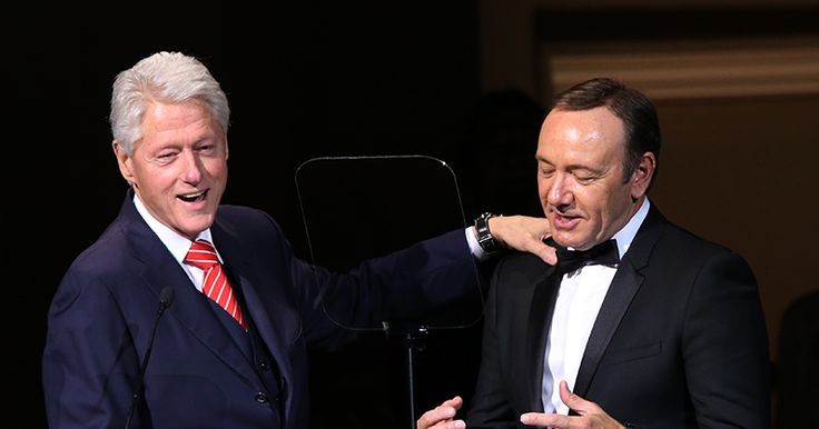 Flashback: Kevin Spacey Talks About His Friendship With Bill Clinton