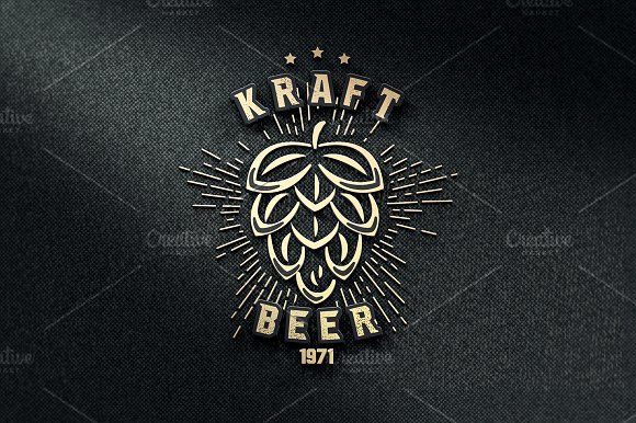 Craft beer logo  by Just Shop on @creativemarket