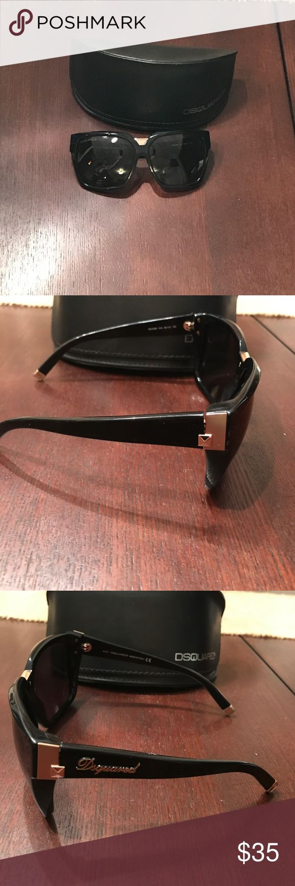 DSquated sunglasses Used DSquared sunglasses... there are some scratches on lenses and on frames, but in decent condition DSQUARED Accessories Sunglasses