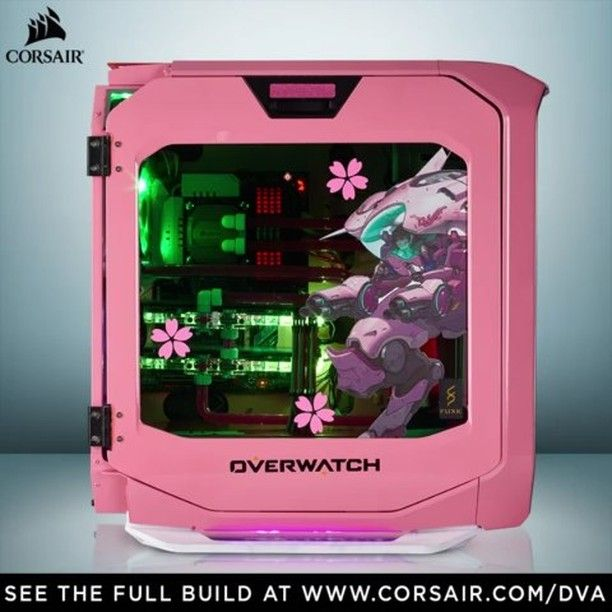 ca226bbcaeb In honor of the new Overwatch update, we thought we'd share this beauty  again The lovely custom D.Va build.