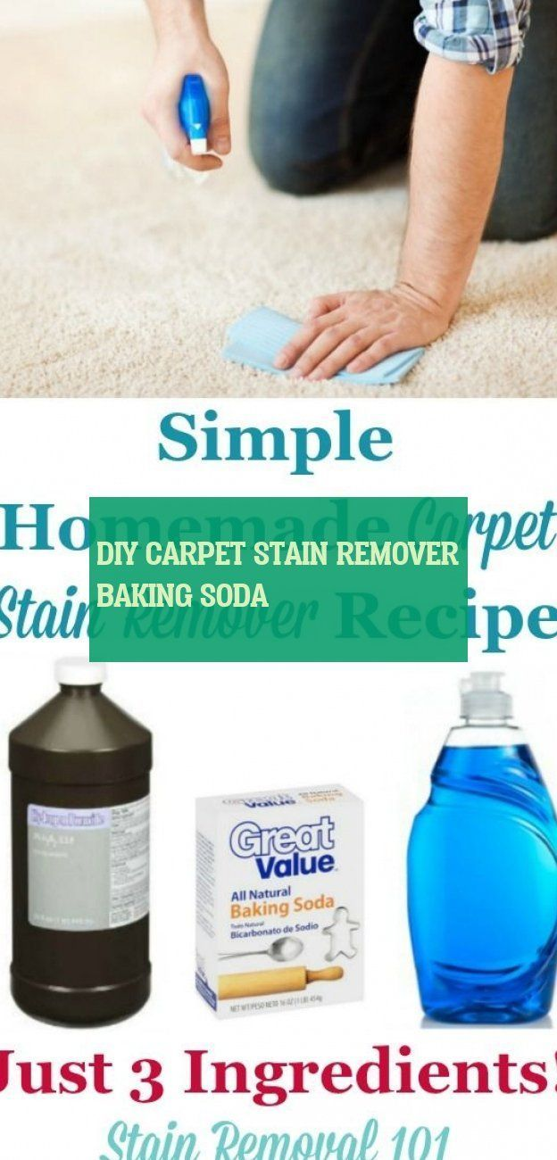Diy Carpet Stain Remover Baking Soda Diy Teppich Fleckenentferner Backpulver
