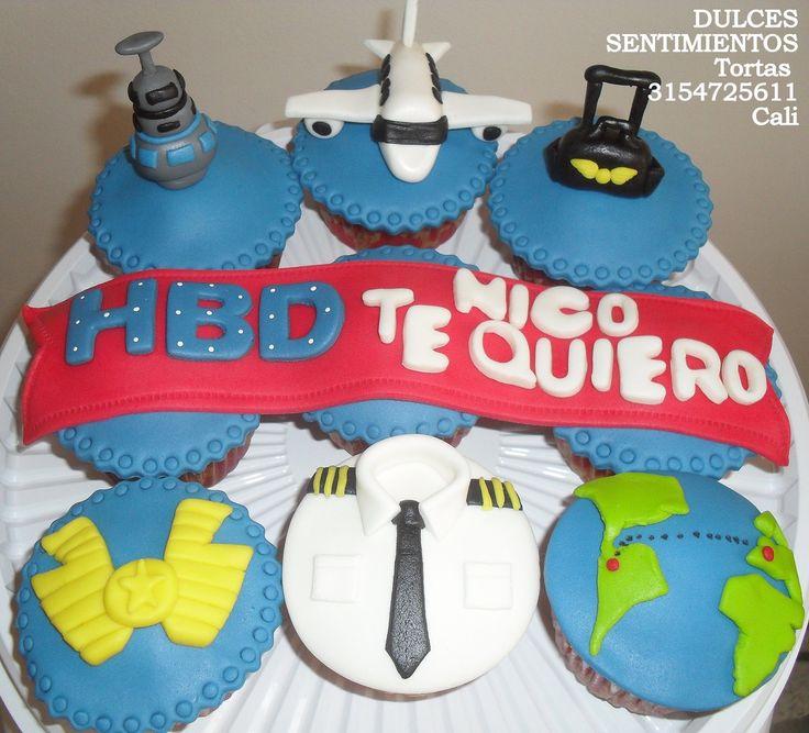 Cupcakes pilotos Cali Colombia