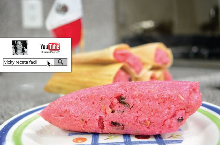 TAMALES DULCES DE FRESA | Vicky Receta Facil - YouTube