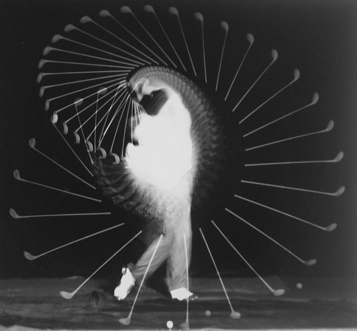 Harold Edgerton- I choose this photo because I love how it shows the motion of the subject from beginning to end. I also play golf myself and seeing this photo gives me a lot of appreciation for the sport and the motion shown in the photo