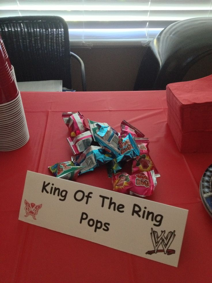 King of The Ring Pops