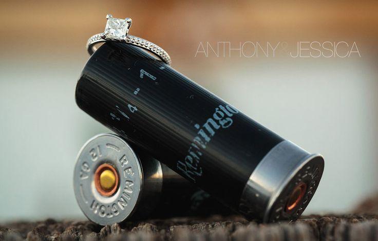 Country Wedding Ring Shot.