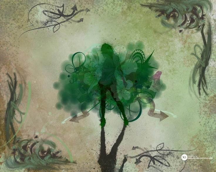 Girl of Nature wallpaper