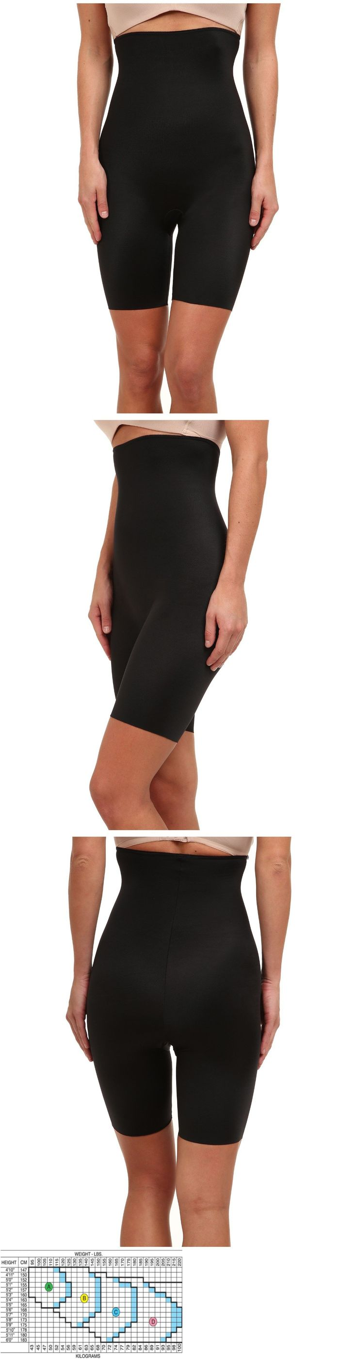 Women Shapewear: New Spanx $72 Slimplicity High Waisted Mid Thigh Body Shaper Black Plus 1X BUY IT NOW ONLY: $37.99