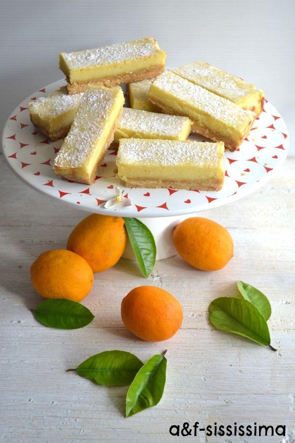 acqua e farina-sississima: barrette al limone