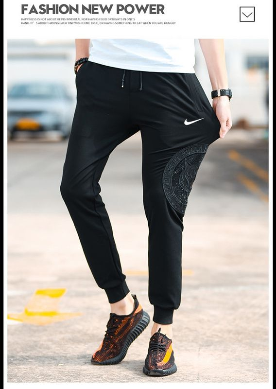 e9d27f01f17b 2018 Real Mens 29 Running Pants Nike Therma Essential M-4X C-2614 Black