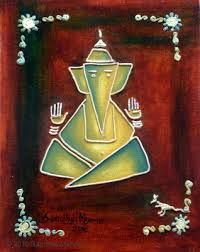 Image result for abstract ganesh images