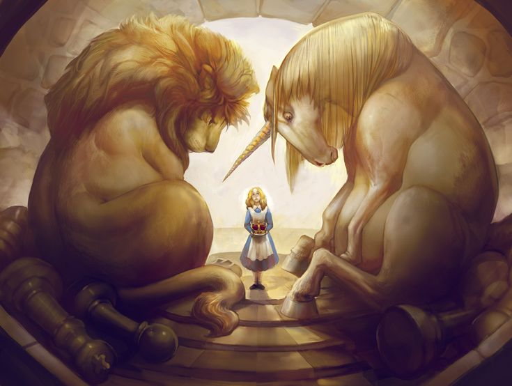 The Lion and the Unicorn by jdillon82 on dA