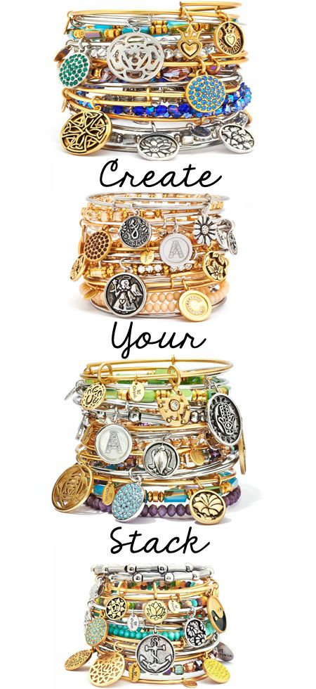What story is on your wrist? Create your own stack of Chrysalis bracelets.