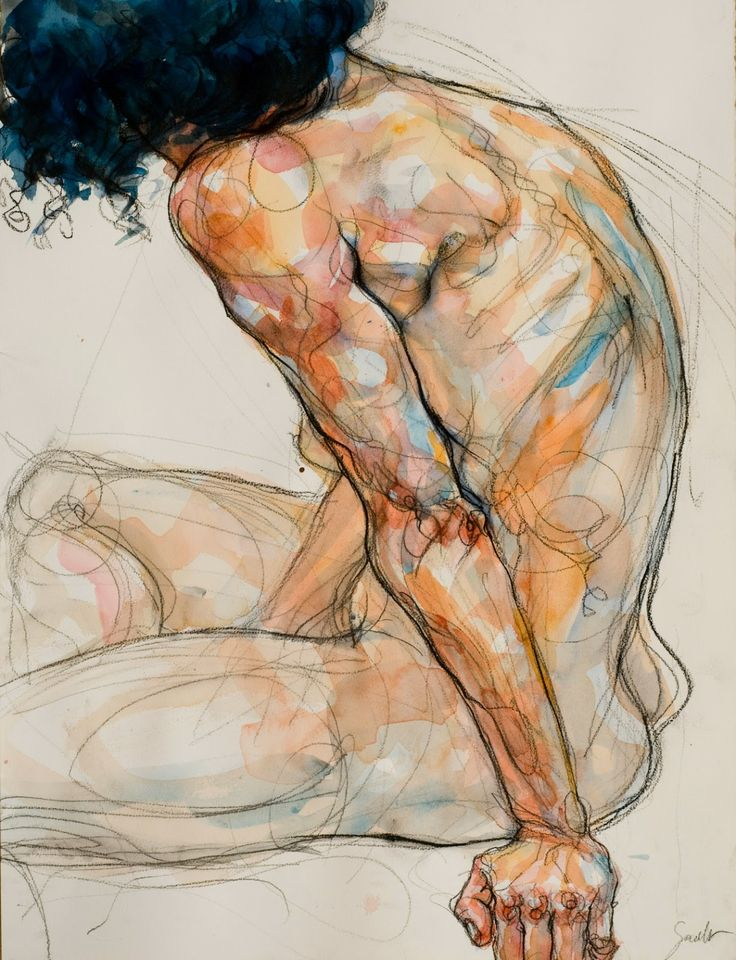 Sylvie Guillot ~ Untitled (watercolour)