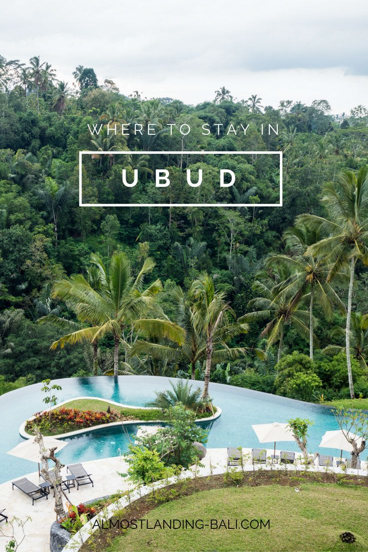 Where to stay in Ubud Bali: Our Ubud Accommodation Guide. The best hotels in Ubud, the best areas to stay and how to book.