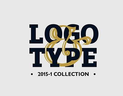 """Check out new work on my @Behance portfolio: """"LOGO & TYPE 2015"""" http://on.be.net/1NKdwyY"""