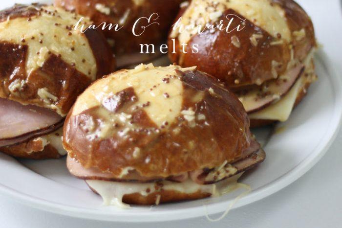 ham & havarti melts - a last minute 10 minute dinner favorite