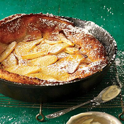 NEW from our October Issue! Straight from the oven, this puffy, airy pancake will elicit major oohs and aahs from your crowd.