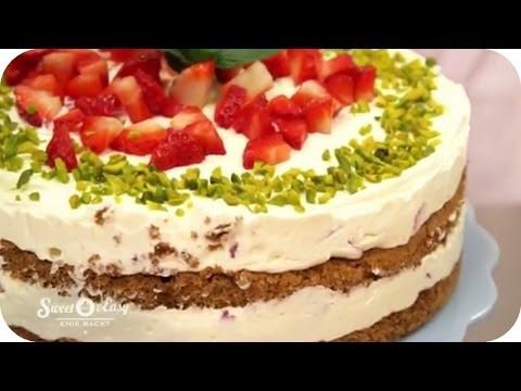 Erdbeer-Mascarpone-Espresso-Torte