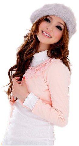 Amazon.co.jp: (アンフィニ) infini 長袖ボレロ ショート丈 結婚式 ボレロ ブラック ピンク ホワイト フリーサイズ: 服&ファッション小物