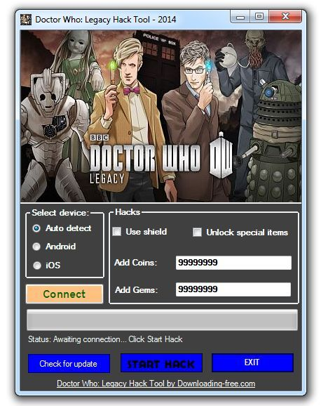 Doctor Who Legacy Hack