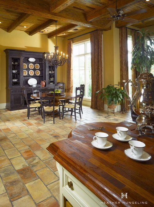 Luxury French Country Kitchen in Louisiana Kitchens in 2018