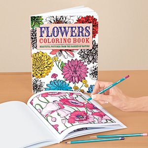 "NEW! Flowers Coloring Book - A colouring book for the young at heart! A beautiful collection of 128 floral outlines lets you express your creativity and exercise your brain at the same time. Perfect for coloured pens, pencils or markers. Acid-free pages won't yellow; suitable for framing. Each page is a framed 9-1/2"" x 7-1/2"" outline. (11""L x 8-3/4""W) (Product Number HC6637) $12.98 CAD"