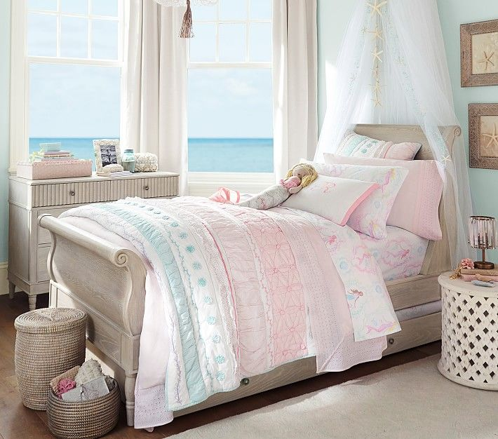 Quinn Sleigh Bed Home Sweet Home In 2019 Pottery Barn