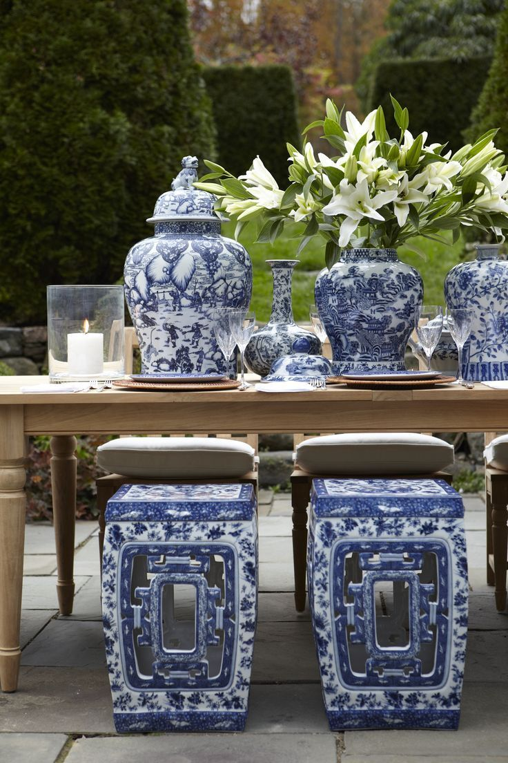 Blue And White Decor 169 best blue and white images on pinterest | blue and white