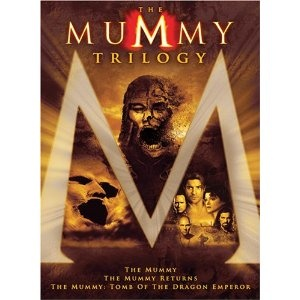 The Mummy movies with Brendan Frazier. Mindless, fun adventure at its best.