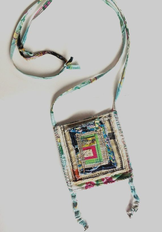 Handmade Pocket Bag Artsy One of a Kind by itzaChicThing on Etsy