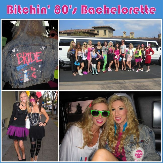Linen, Lace, & Love: Bitchin' 80's Bachelorette - amazing ideas for both crafts and activities!!