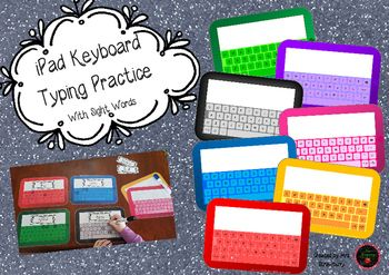 Do your students struggle to type when using iPads in your classroom?These colourful iPad templates are designed for a small group activity to allow students to practice finding the correct letters on the iPad keyboard. Also a perfect way to learn sight words!Includes: 7 different coloured iPad templates 40 high-frequency sight wordsYou can use this product in many ways.