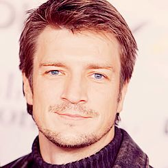 "The pinner wrote, ""Stubbly Nathan Fillion?  Yes."" I say, Nathan Fillion all the time however? Yes!"
