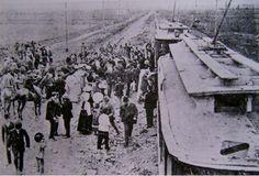 1907, Inauguración vía Tobalaba