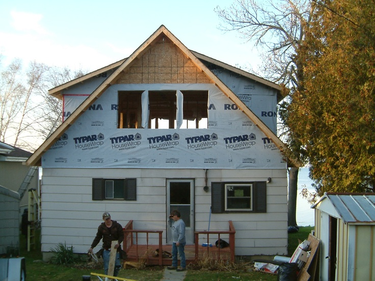 Second story shell completed.