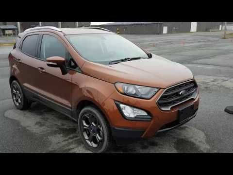 2018 Ford EcoSport SES AWD inside & out walk around