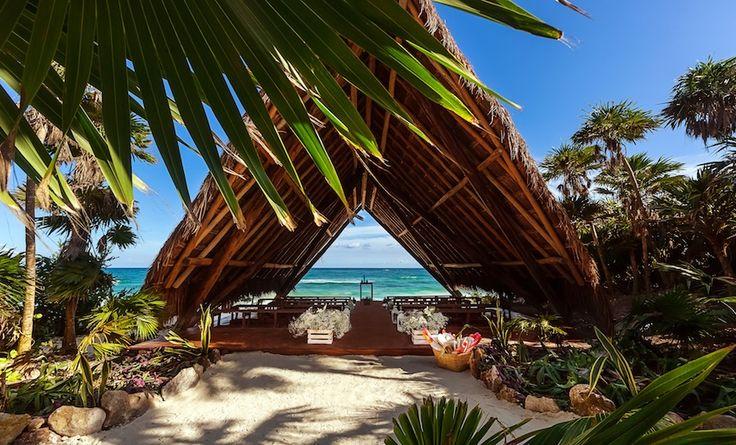 Eco Luxury Villa - Casa Palapa in Tulum, Riviera Maya, Mexico