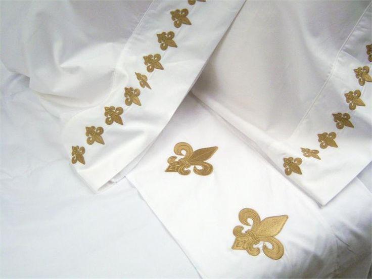 25 unique fleur de lis ideas on pinterest templates cupcake outline and fleur de lis jewelry - Fleur de lis bed sheets ...