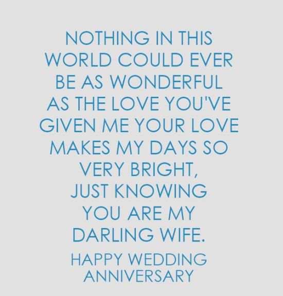 Happy wedding Anniversary Quotes